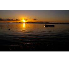 Sunrise - Tin Can Bay, Queensland, Australia Photographic Print