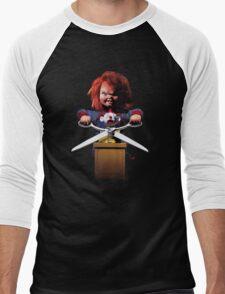 Childs Play Chucky Men's Baseball ¾ T-Shirt