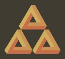 Impossible Triforce  by nucleotides
