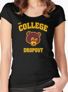 College Dropout Women's Fitted Scoop T-Shirt