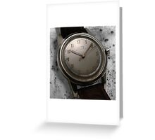 classic time Greeting Card