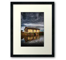 Fort Lytton, Brisbane. Framed Print