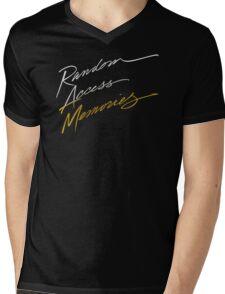 Random Access Memories Mens V-Neck T-Shirt