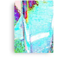 Psych Prayer Flag Canvas Print