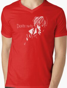 Deathnote Anime Mens V-Neck T-Shirt