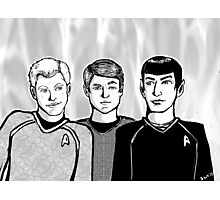 Star Trek Trio Photographic Print