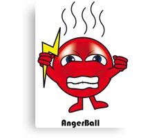 Anger Ball Canvas Print