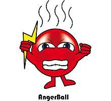 Anger Ball Photographic Print