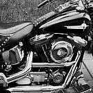 My Harley Davidson. by Finbarr Reilly
