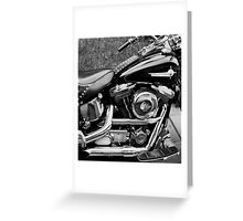 My Harley Davidson. Greeting Card