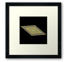 Tile Foundation Framed Print
