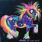 Colour Dance Cob by louisegreen