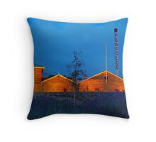 View From The Grange Throw Pillow