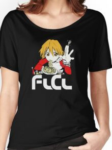Flcl Haruhara Haruko Anime Japanese Women's Relaxed Fit T-Shirt