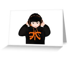 FNATIC: Huni Greeting Card