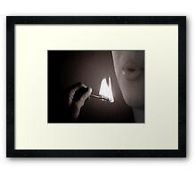 ALLOW ME... Framed Print