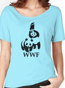 Funny Bear WWF Women's Relaxed Fit T-Shirt