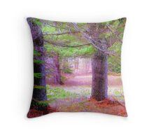A fairytale forest Throw Pillow