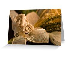 Ribbon Rose Greeting Card