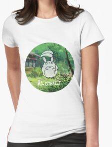 My neighbor Totoro! - My friend Womens Fitted T-Shirt