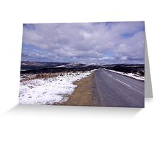 Down the Road Greeting Card