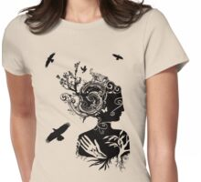 Gaia Womens Fitted T-Shirt