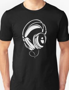 Headphones Kopfhorer Music Disco T-Shirt
