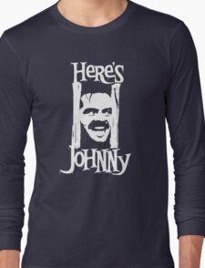 Heres Johnny The Shining Kubrick Long Sleeve T-Shirt