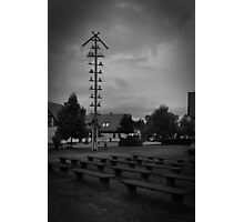 Darkness Looming Over Photographic Print