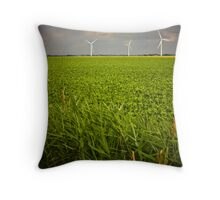 Wind Harvest Throw Pillow