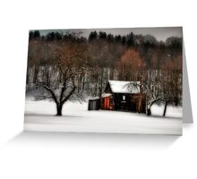 In Winter's Grip Greeting Card