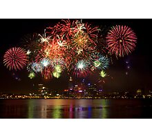 Fire Works Photographic Print