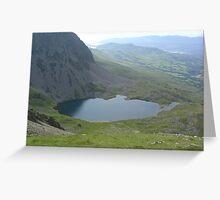 Cadair Idris, Llyn y Gadair Greeting Card