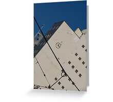 Towns Ticker Greeting Card
