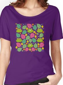 Frog Pattern Women's Relaxed Fit T-Shirt