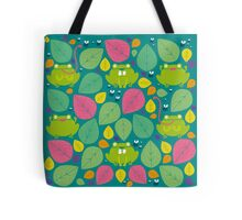 Frog Pattern Tote Bag