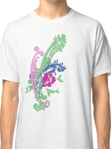 Pretty Abstract Floral T shirt Classic T-Shirt