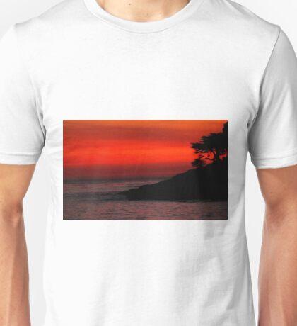 #1113  Sunset In Santa Cruz Unisex T-Shirt