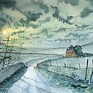 ROAD TO HALTON GILL by Glenn Marshall