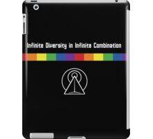 Infinite Pride in Infinite Diversity iPad Case/Skin