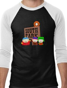 South Park is an American Men's Baseball ¾ T-Shirt