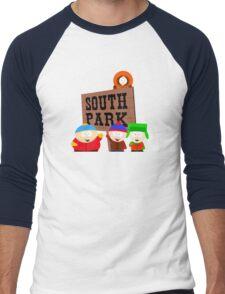 South Park is an American Men's Baseball ¾ T-Shirt