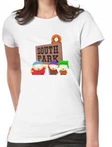 South Park is an American Womens Fitted T-Shirt