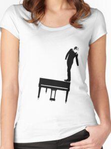 Rock n Roll Nerd Women's Fitted Scoop T-Shirt