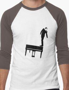 Rock n Roll Nerd Men's Baseball ¾ T-Shirt