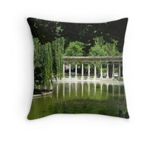 Colonnade_Parc_Monceau Throw Pillow