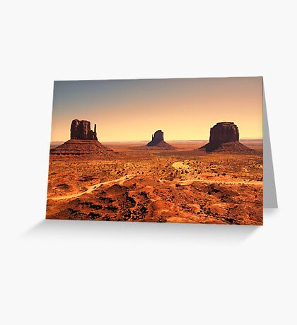 The Monument Three Greeting Card