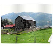 Mountain Vailley Farm Poster