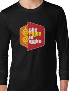 The Price Is Right Game Show Long Sleeve T-Shirt