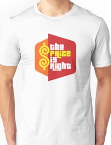 The Price Is Right Game Show Unisex T-Shirt
